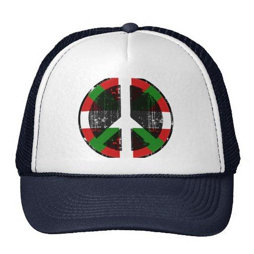 Paz en vasco gorras de camionero