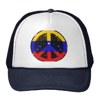 Paz en Venezuela Gorros Bordados