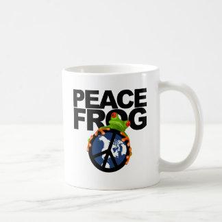 Paz, Frog-2 Taza De Café