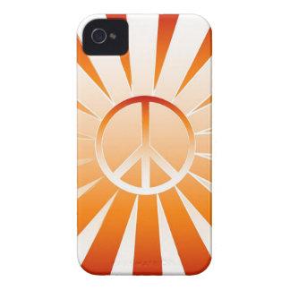 Paz iPhone 4 Case-Mate Cárcasa
