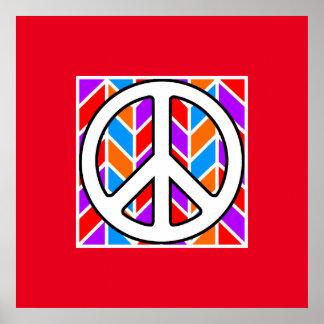 Paz maníaca póster