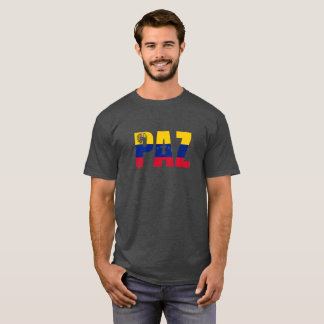 PAZ - paz - camiseta de la ayuda de la crisis de