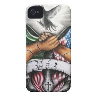 Paz (paz) Case-Mate iPhone 4 funda
