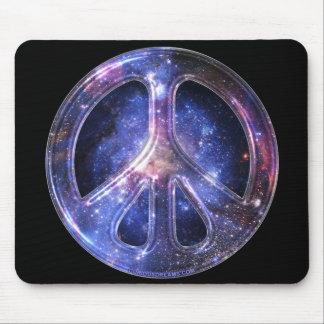 Paz universal Mousepad Alfombrillas De Ratón
