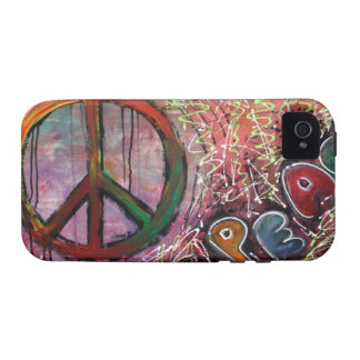 Paz Vibe iPhone 4 Carcasas