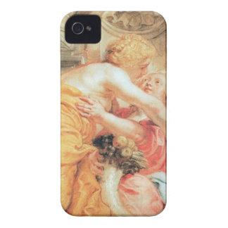 Paz y abundancia de Peter Paul Rubens Case-Mate iPhone 4 Cobertura