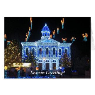 Paz y alegría de la tarjeta de Navidad CMTA