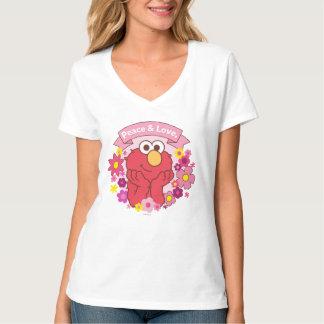 Paz y amor de Elmo el | Camiseta