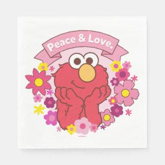 Paz y amor de Elmo el | Servilletas De Papel