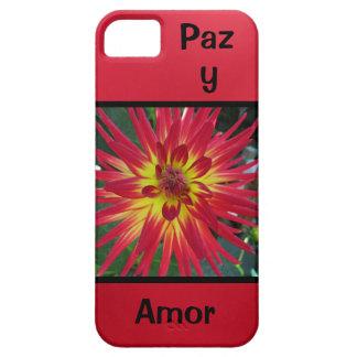 Paz y Amor - La Dalia iPhone 5 Carcasas