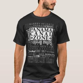 PCZ - Ubicaciones de la zona del Canal de Panamá Camiseta