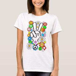 Peace, bebé! camiseta