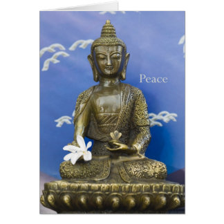 Peace Card Tarjeta De Felicitación
