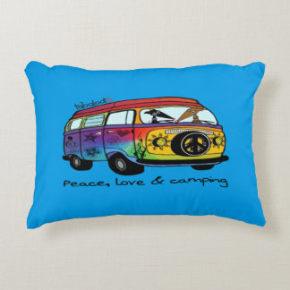 Peaceloveandcamping Cojín Decorativo
