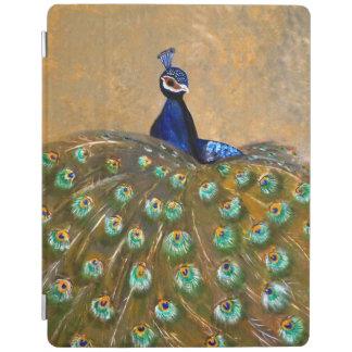 peacock cubierta de iPad