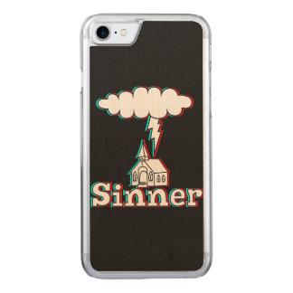 Pecador en 3D (no realmente) Funda Para iPhone 7 De Carved