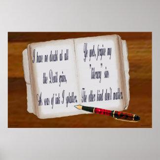 Pecados literarios impresiones
