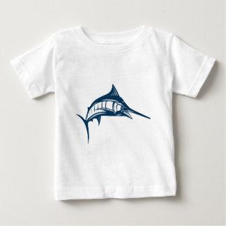 Peces espadas camiseta de bebé