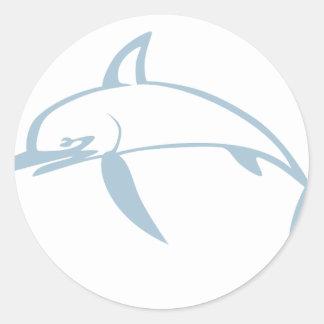 Pegatinas dibujo animado de los peces espadas adhesivos for Pegatinas de peces