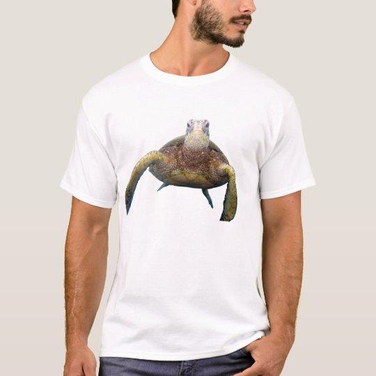 Pecho de la tortuga camiseta