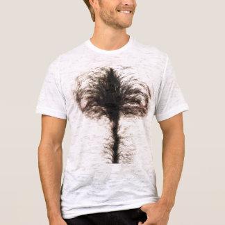 Pecho melenudo divertido camiseta