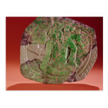 Pectoral de un rey del sitio de Tikal, Guatemala Postal