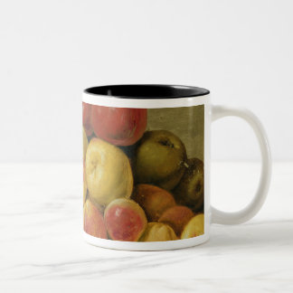 Pedazos de fruta taza