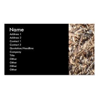 Pedazos de madera plantillas de tarjeta de negocio