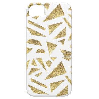 Pedazos de oro funda para iPhone SE/5/5s