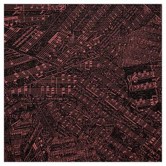 Pedazos del cobre chillón POMV de la música Tela