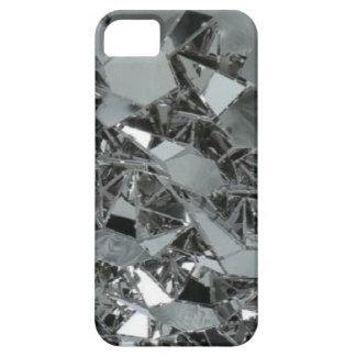 Pedazos rotos de cristal iPhone 5 protector