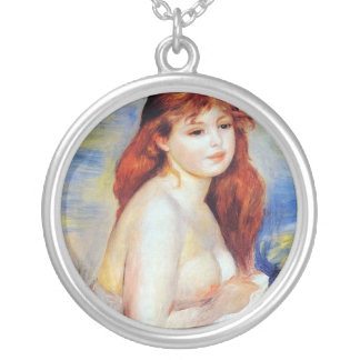 Pedro Auguste Renoir - bañista Colgante Redondo