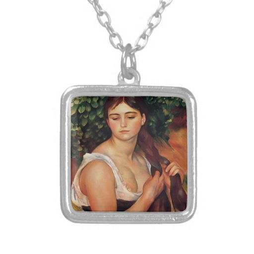 Pedro-Auguste Renoir- la trenza (Suzanne Valadon) Joyerias Personalizadas