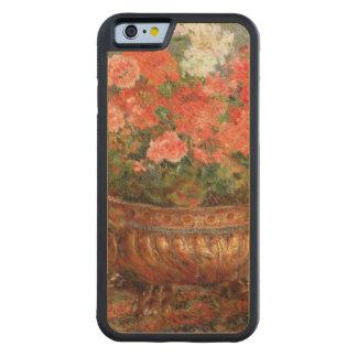 Pedro geranios de Renoir un | en un lavabo de Funda Protectora De Arce Para iPhone 6 De Carved