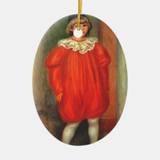 Pedro Renoir- el payaso Ornamentos De Reyes Magos