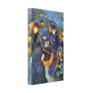 Pedro Renoir - Les Para Pluies Impresiones En Lienzo Estiradas