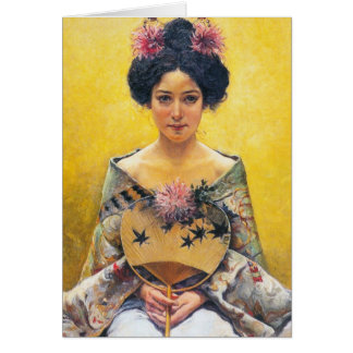 Pedro Sáenz (1864-1924), japonesa de Disfraz Tarjeta Pequeña