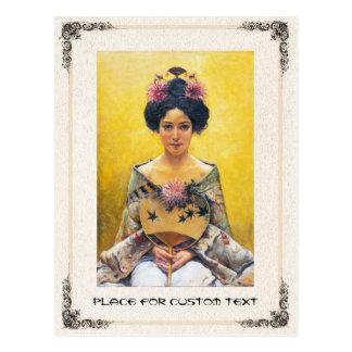 Pedro Sáenz 1864-1924 japonesa de Disfraz Tarjetas Postales