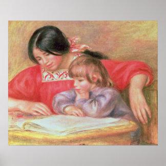 Pedro un Renoir el   Leontine y Cocos Póster