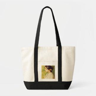 Pedro una mujer joven de Renoir el   con las Bolsa Tela Impulso