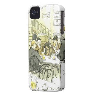 ~ Pedro Vidal de la cervecería del ~German del iPhone 4 Case-Mate Carcasa