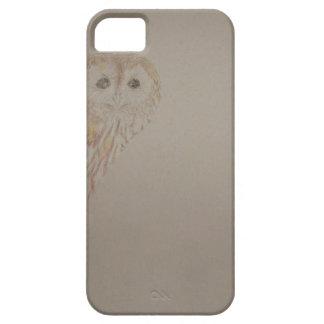 Peekaboo del búho rojizo iPhone 5 fundas