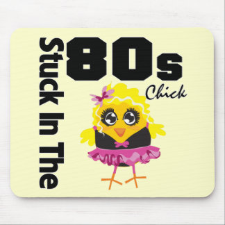 Pegado en el polluelo de los años 80 alfombrilla de ratón