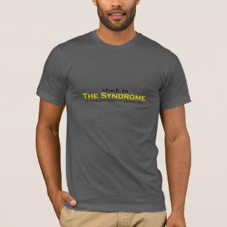 Pegado en la camiseta del síndrome