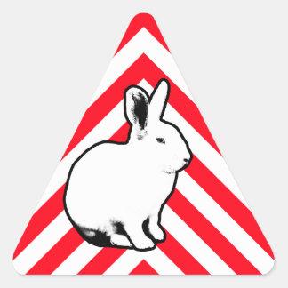 Pegatina 2 del conejo de BunnyLuv