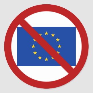 Pegatina anti de la UE