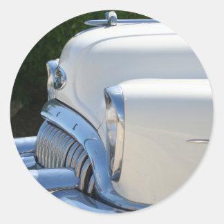 Pegatina blanco de Buick
