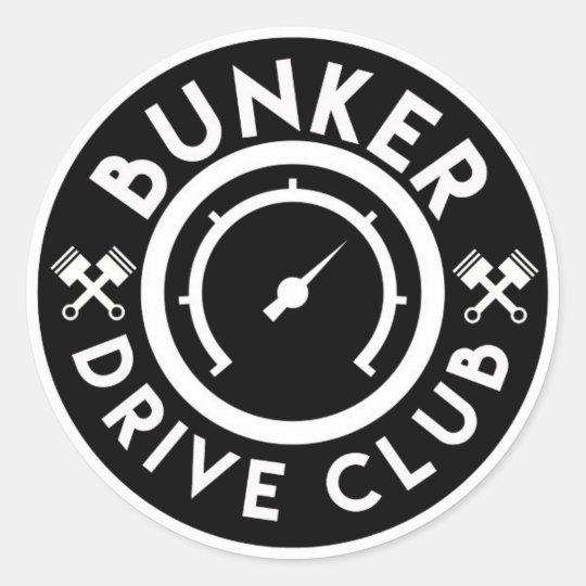 Pegatina Bunker Drive Club