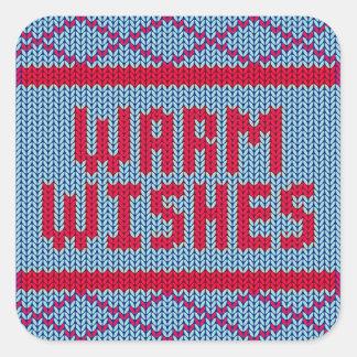 Pegatina caliente de los deseos el   del suéter