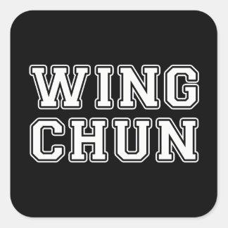 Pegatina Cuadrada Ala Chun